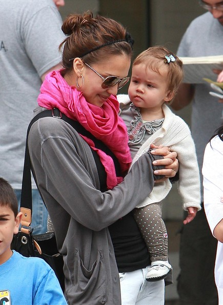 Cash Warren and Jessica Alba's cute beby Honor