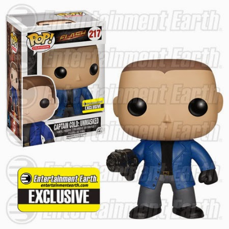 Funko Pop! Capitan Cold unmasked exclusive