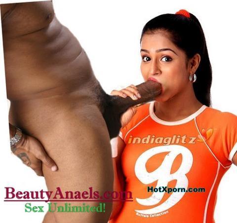 Nude Hot Ramya Nabeesan Sucking Cock of her Boyfriend