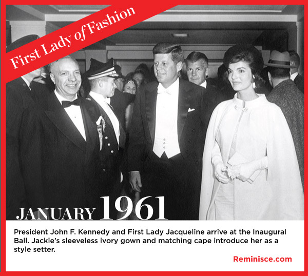 Time to Reminisce: Jackie Kennedy our First Lady of Fashion