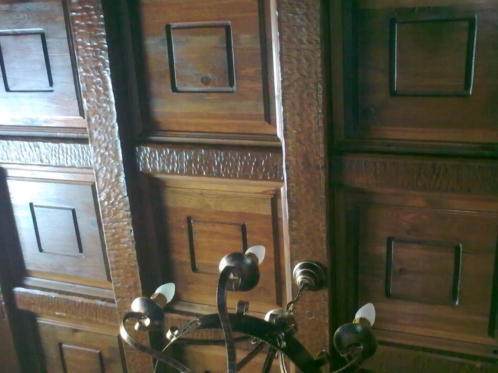 Carpinter a baena techo de madera for Muebles baena