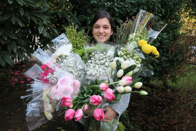 Flowers from the Sydney Flower Market