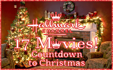 17 days til countdown to christmas begins on the hallmark channel with 17 all new christmas movies - Countdown To Christmas 2015