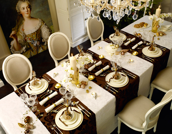 El blog de demarques ideas para decorar la mesa de navidad for Como decorar la mesa para navidad