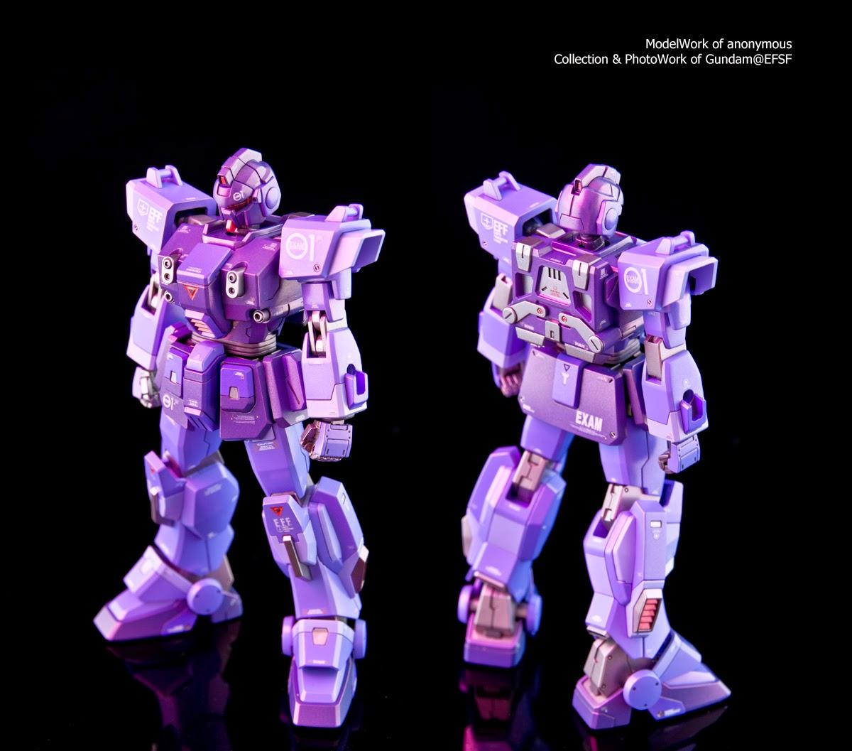 RX-79-BD1【Blue Destiny 1号機 】EXAMシステムを起動! - Gundam@EFSF - Gundam@EFSF的白色基地