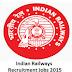 Railway Recruitment Board Junior Engineer & Senior Engineer 2786 Vacancies