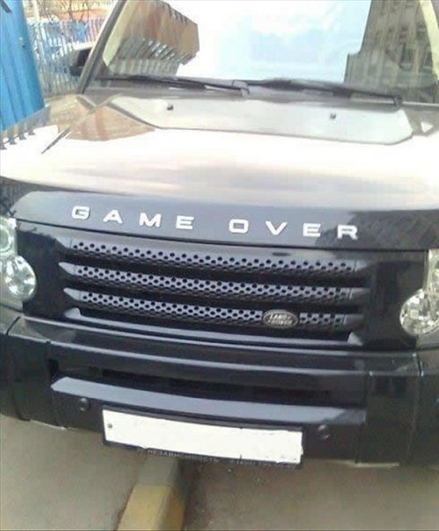auto ok land rover game over. Black Bedroom Furniture Sets. Home Design Ideas