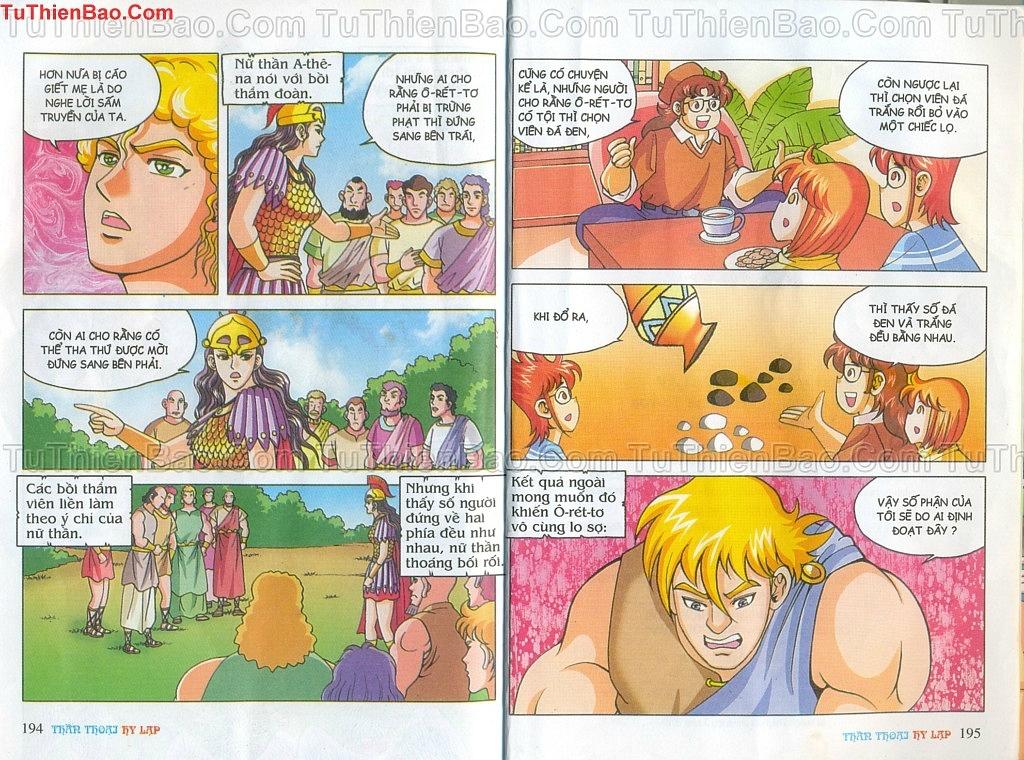 Thần thoại Hy Lạp Chapter 14 - Trang 96
