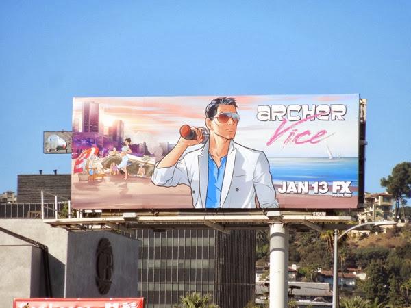 Archer series 5 fx billboard
