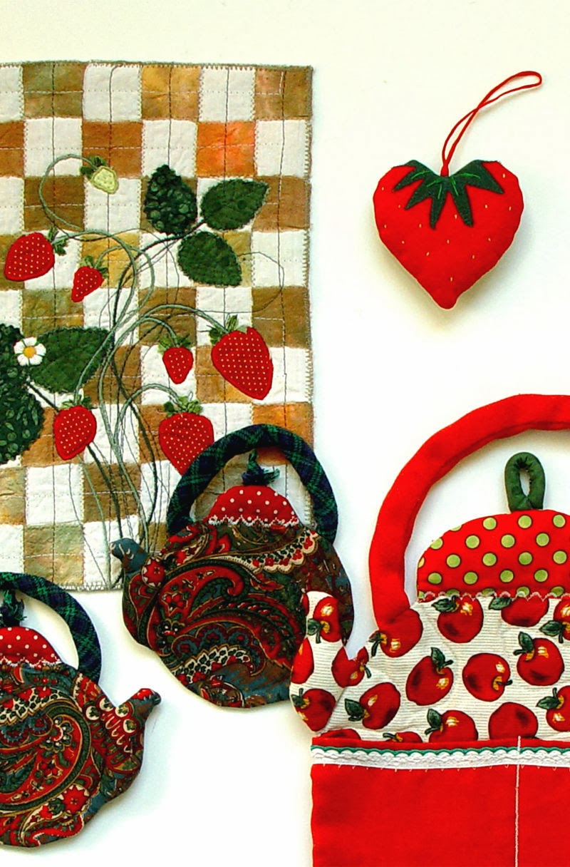 red accessories by bozena wojtaszek