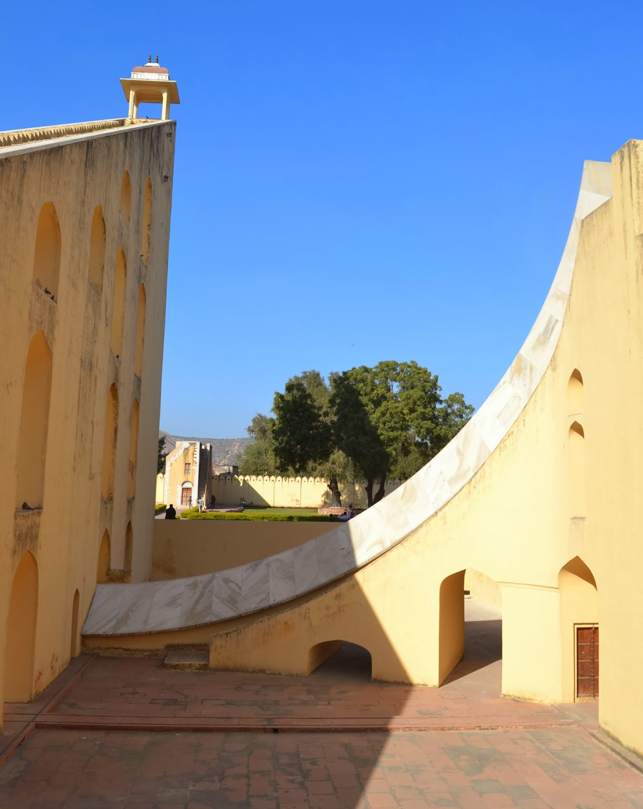 Worlds biggest sundial Jantar Mantar
