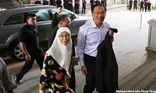 Rayuan ditolak Anwar ke penjara