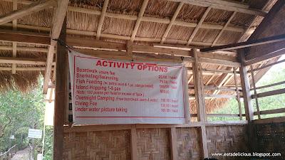 Olango Island in Cebu travel diary marine sanctuary rates
