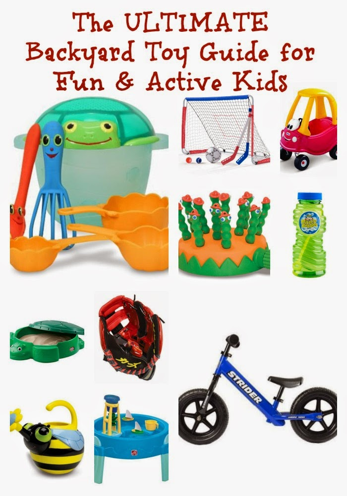 Fun Backyard Toys : The Ultimate Backyard Toy Guide for Fun & Active Kids  The Chirping