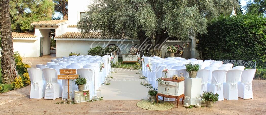 Blanco boda en jardines la hacienda el jard n de mam ana for Jardines la hacienda