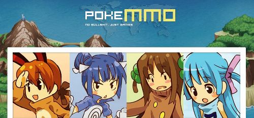 PokeMMO – a new FireRed Pokemon MMO front page