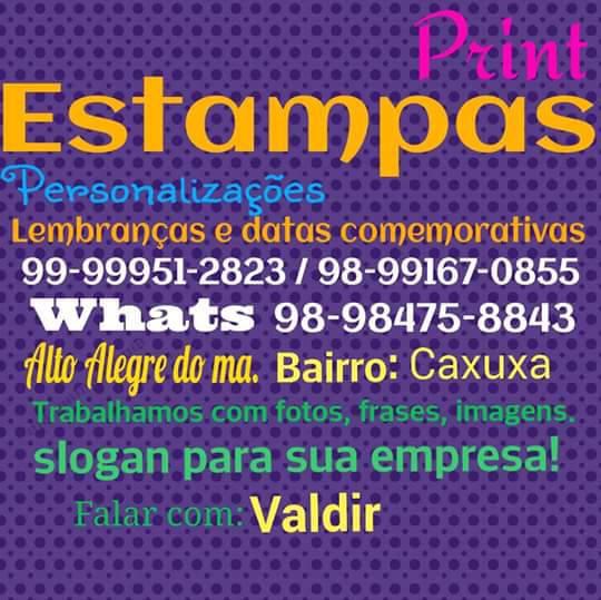 Falar com Valdir: (99)99951-2823