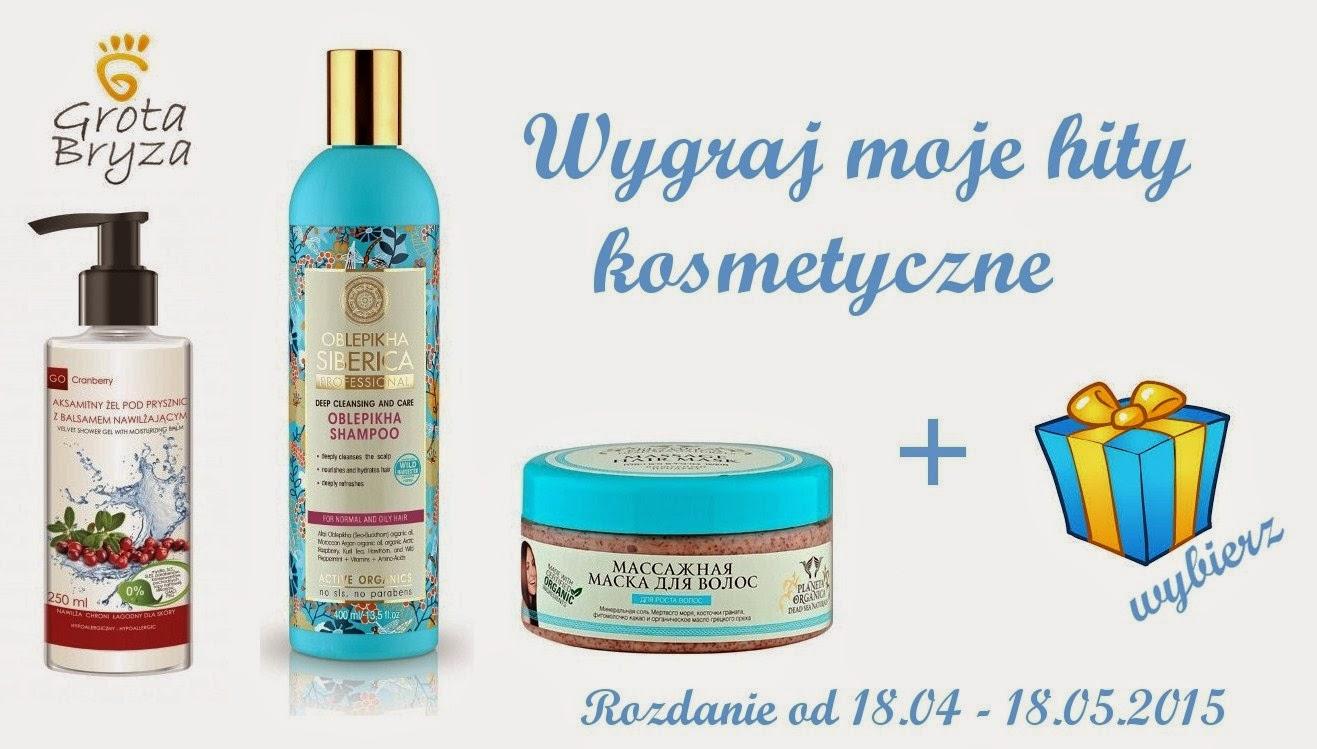 Kosmetyczne hity od Gosi :) 18.05