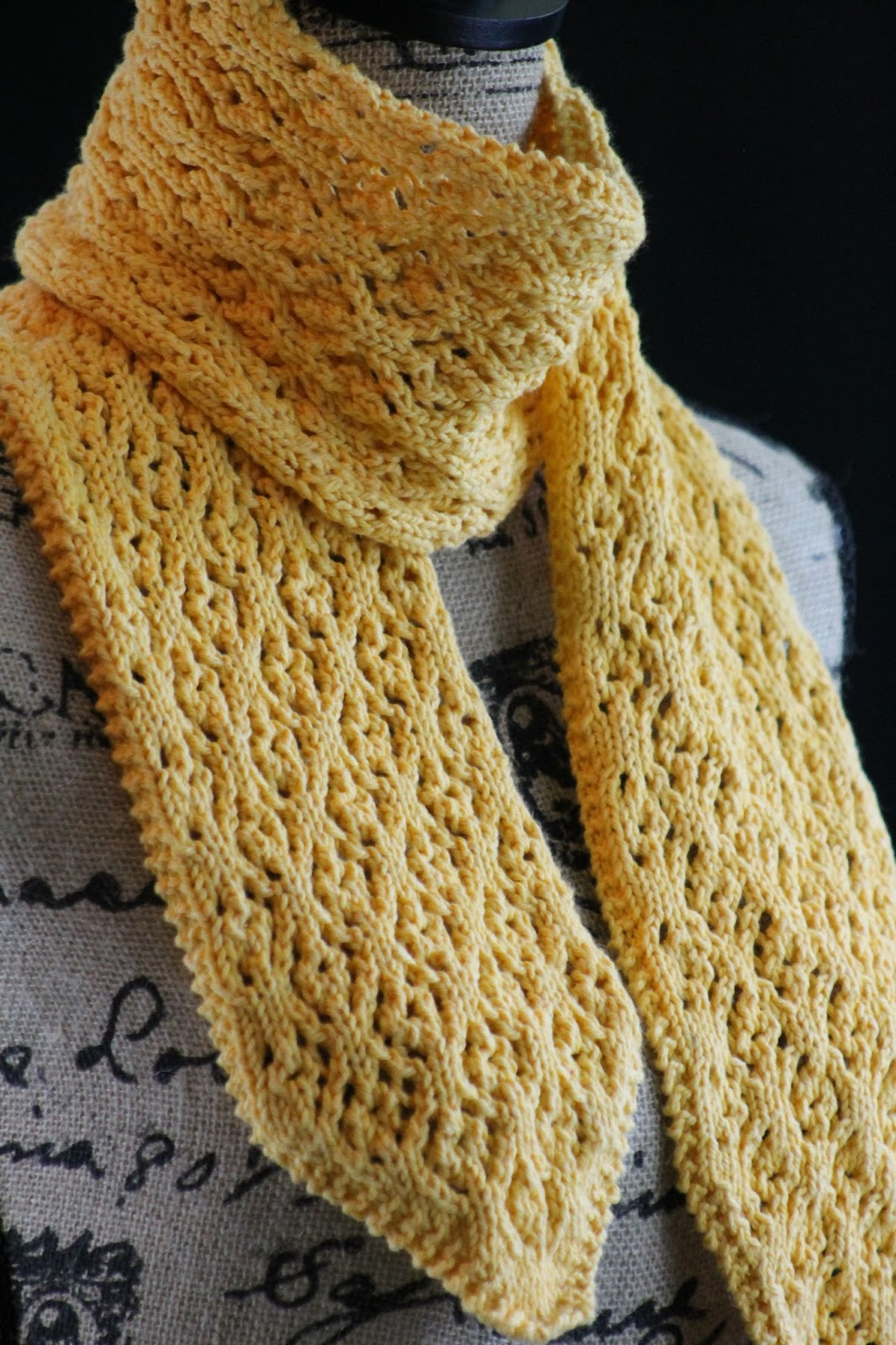Balls to the Walls Knits: scarf