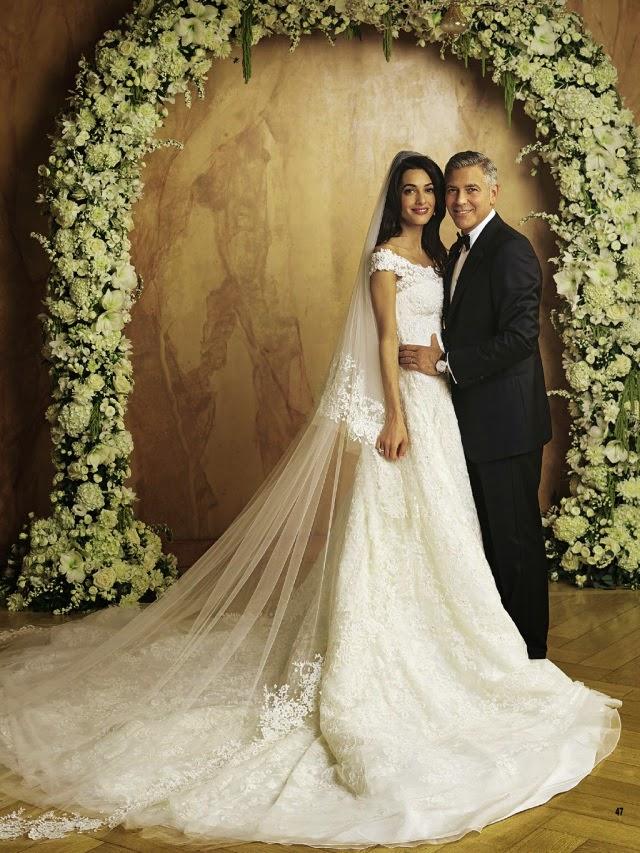Amal Alamuddin & George Clooney