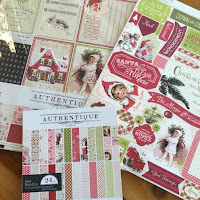 Authentique Christmas Collection
