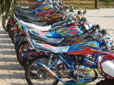 Gambar Modifikasi Motor Yamaha RX King