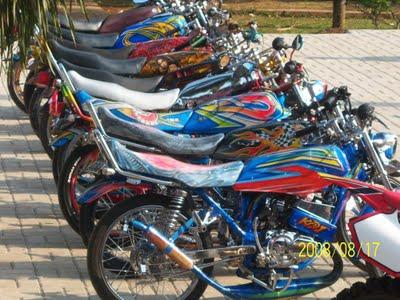 Gambar Modifikasi Motor Yamaha RX King title=