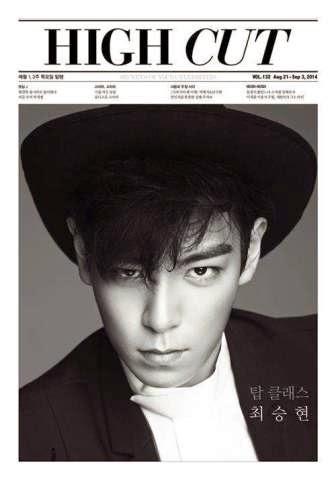 T.O.P Big Bang melakukan sesi pemotretan dan wawancara untuk majalah High Cut. Saat wawancara, dia ditanyai apakah akan melakukan hubungan go public atau tidak.