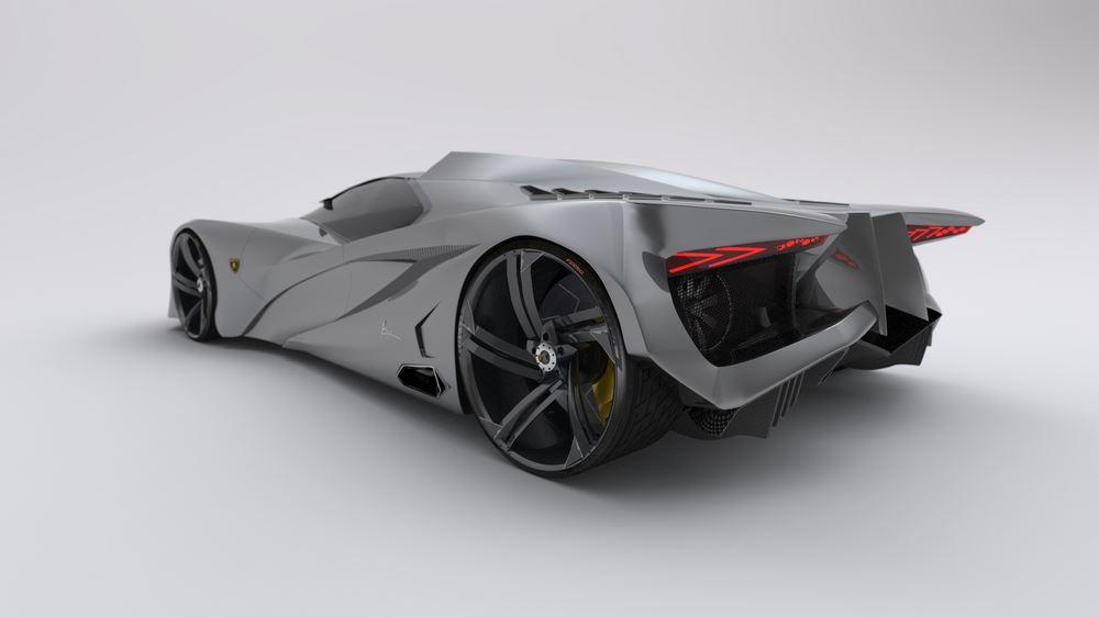 Lamborghini Ferruccio HD Resimleri