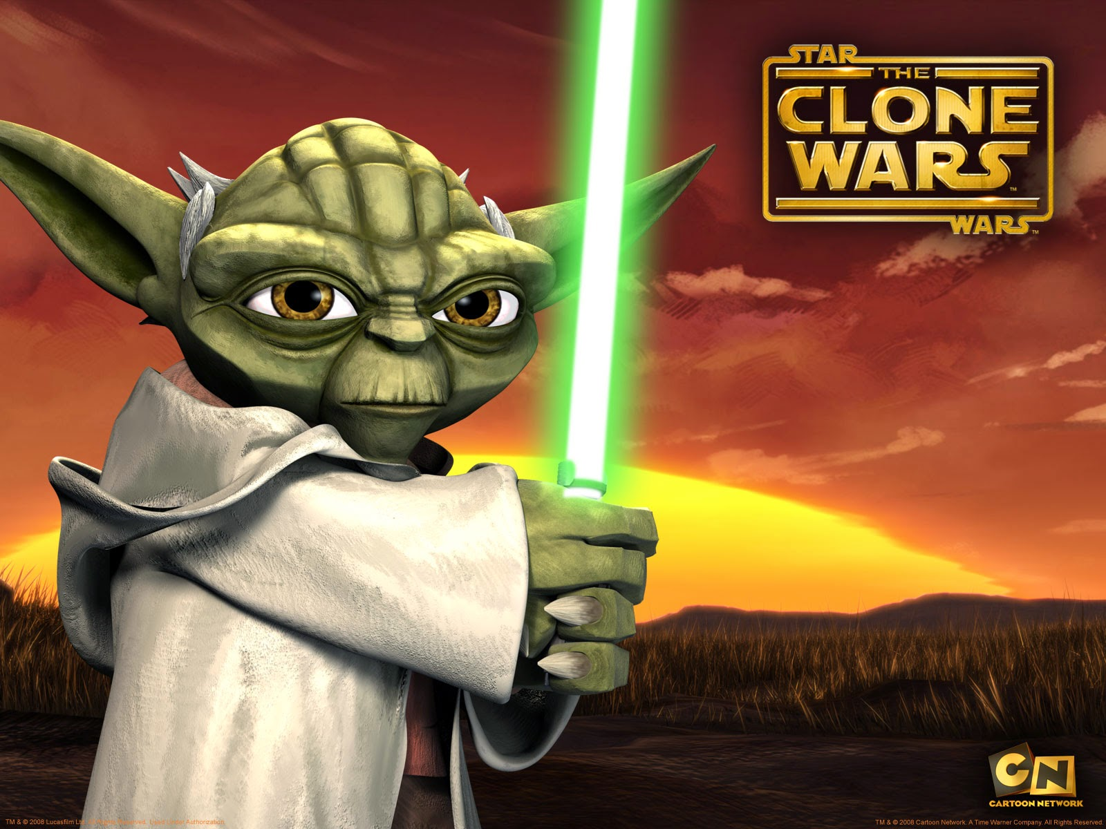 The Clone Wars Yoda Cartoon Network