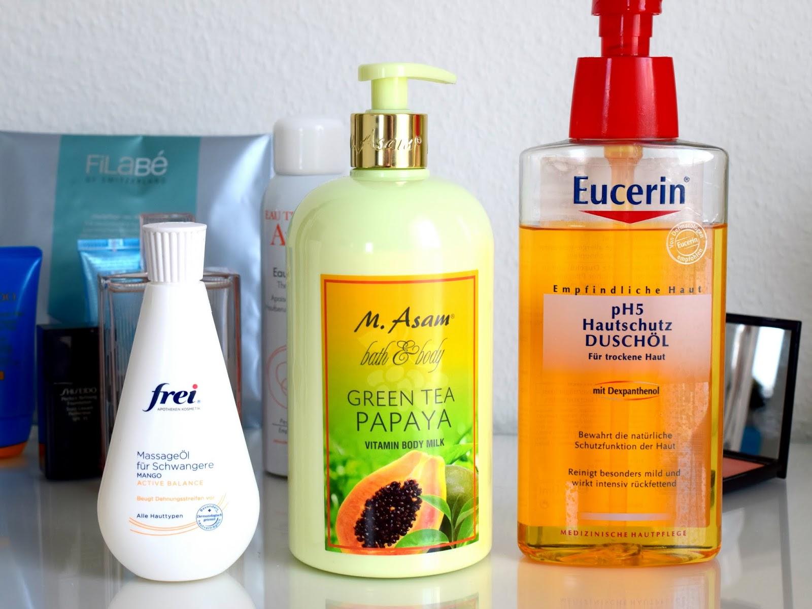 10 Beauty Favoriten im Juli: frei, M.Asam, Eucerin