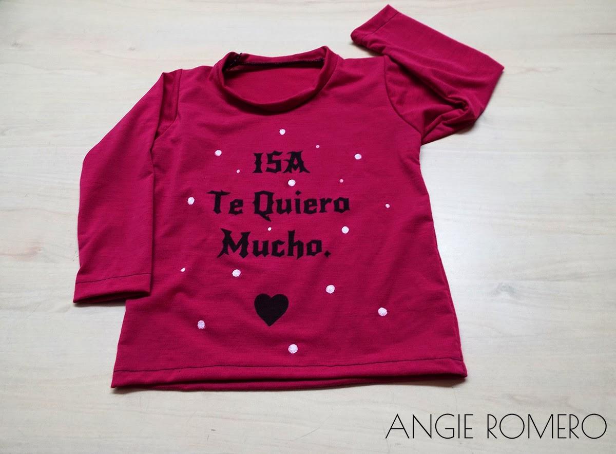 Como estampar y hacer camiseta