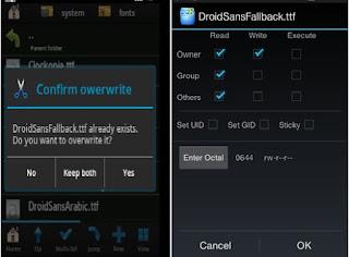 Cara Ampuh Mengatasi Huruf Tidak Terbaca dan Kotak Kotak pada Android