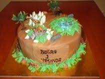 Buğra'nın Safari temalı 1 yaş doğum günü partisi