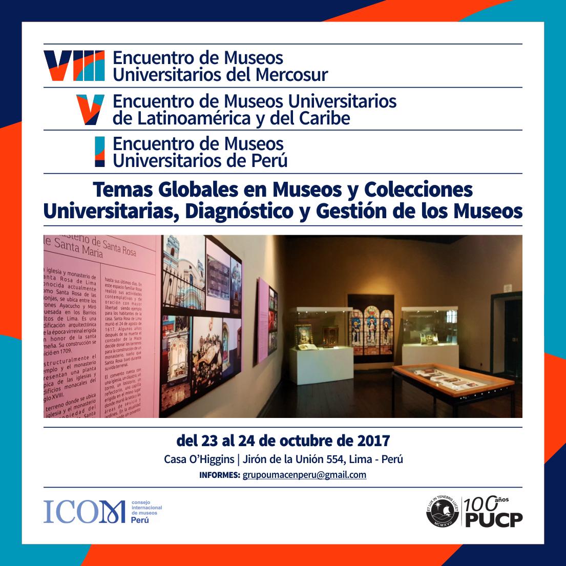 ¡Ya llega el Encuentro de Museos Universitarios!