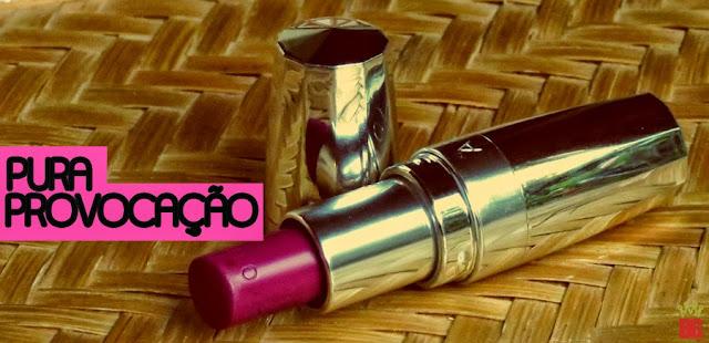 Batom Pura Provocação Blog No Balaio da Gata