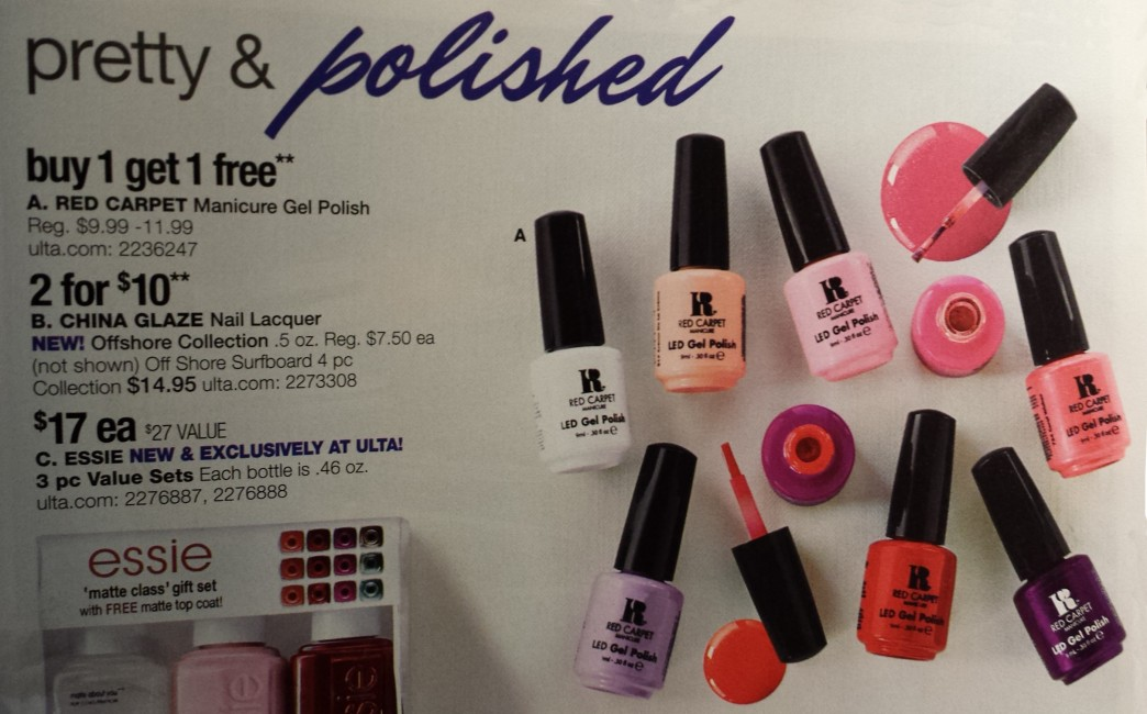 Gel-Luv: A GEL Polish Blog!: Red Carpet Manicure Buy-One-Get-One ...