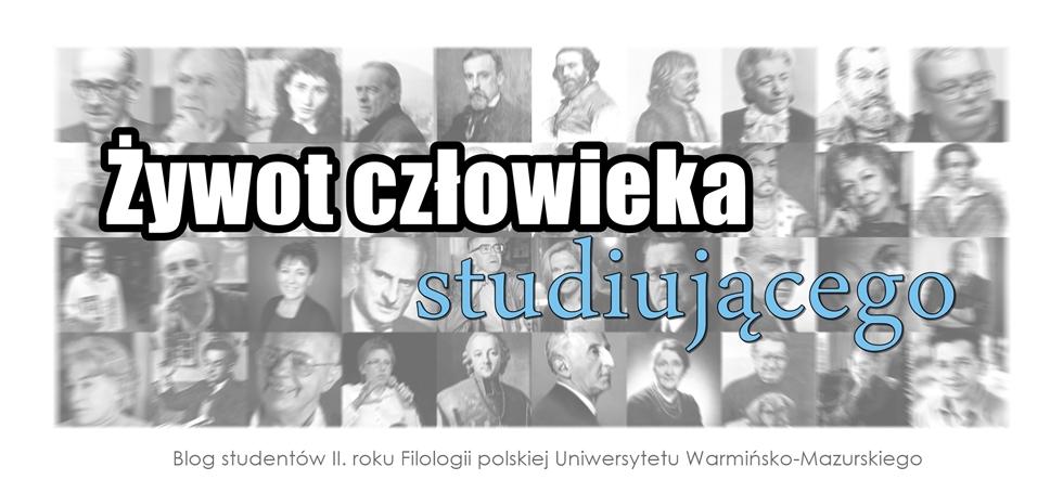 Blog studentów drugiego roku Filologii polskiej UWM