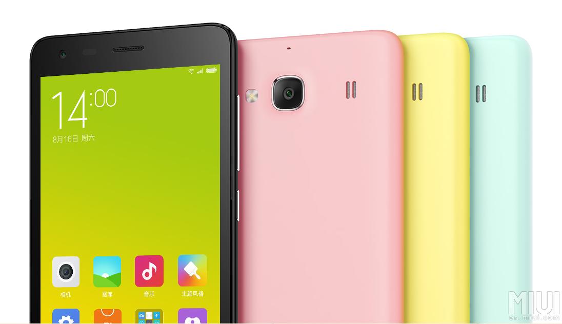 Pilihan warna Xiaomi Redmi 2