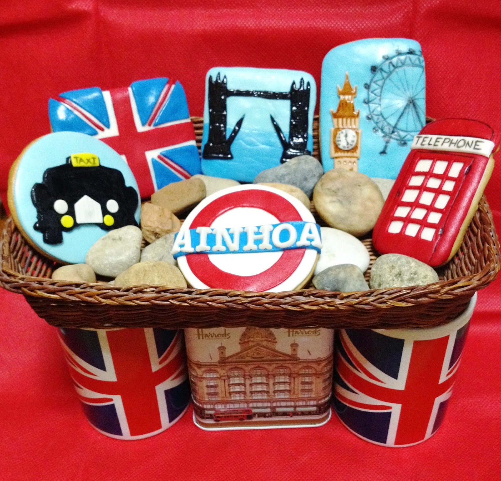 galletas london; galletas londres; galletas decoradas