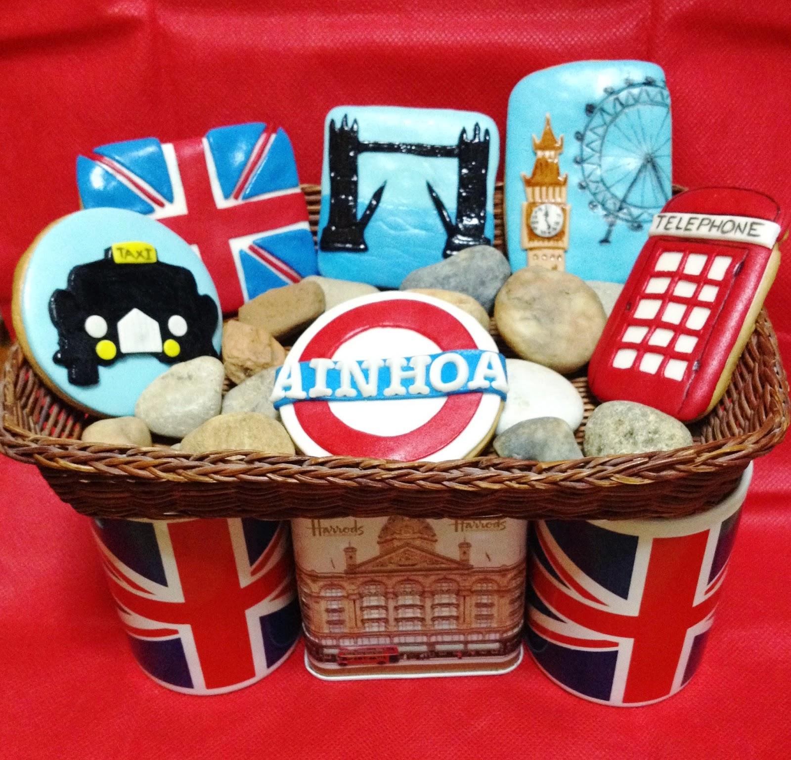 galletas london; galletas londres; galletas decoradas