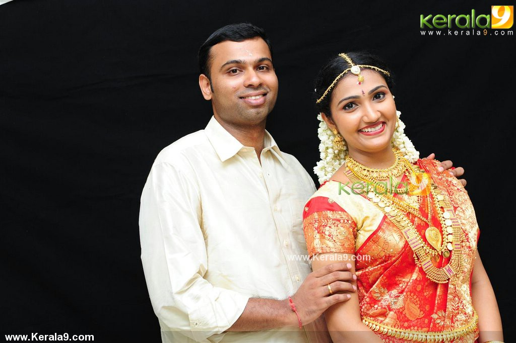 Serial Actress Leena Nair Marriage Exclusive Photos