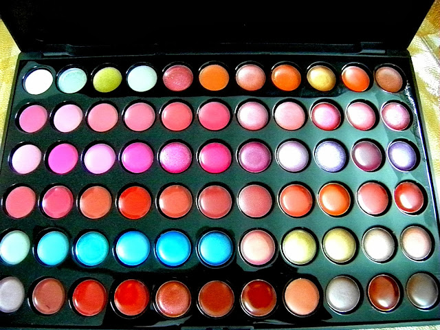 Romwe's 66 Color Gorgeous Lipsticks Lip Gloss Palette