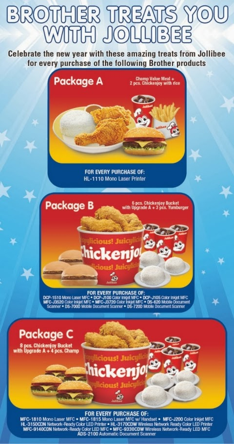 Brother Treats You with Jollibee Promo