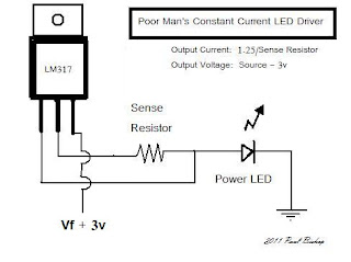 high power led driveruse a decent wattage resistor, 1 2 watt or more, or calc out the dissipation the circuit isn\u0027t particularly efficient (3v drop) but it is cheap and easy!