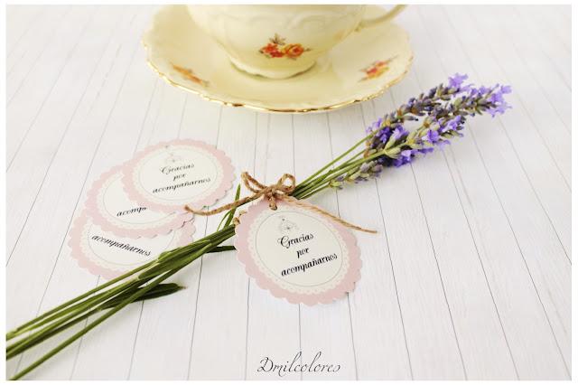 etiqueta personalizada boda