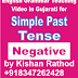 Video Teaching of Simple Past Tense in English Grammar - Negative