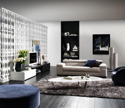 salon moderno y elegante