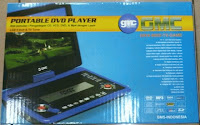 Jual TV dan DVD Player Portable GMC 808X 9