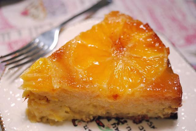 recette gateau orange caramelise